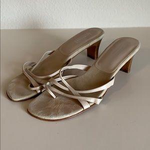 Women's Nordstrom Slip-on/open toed heel